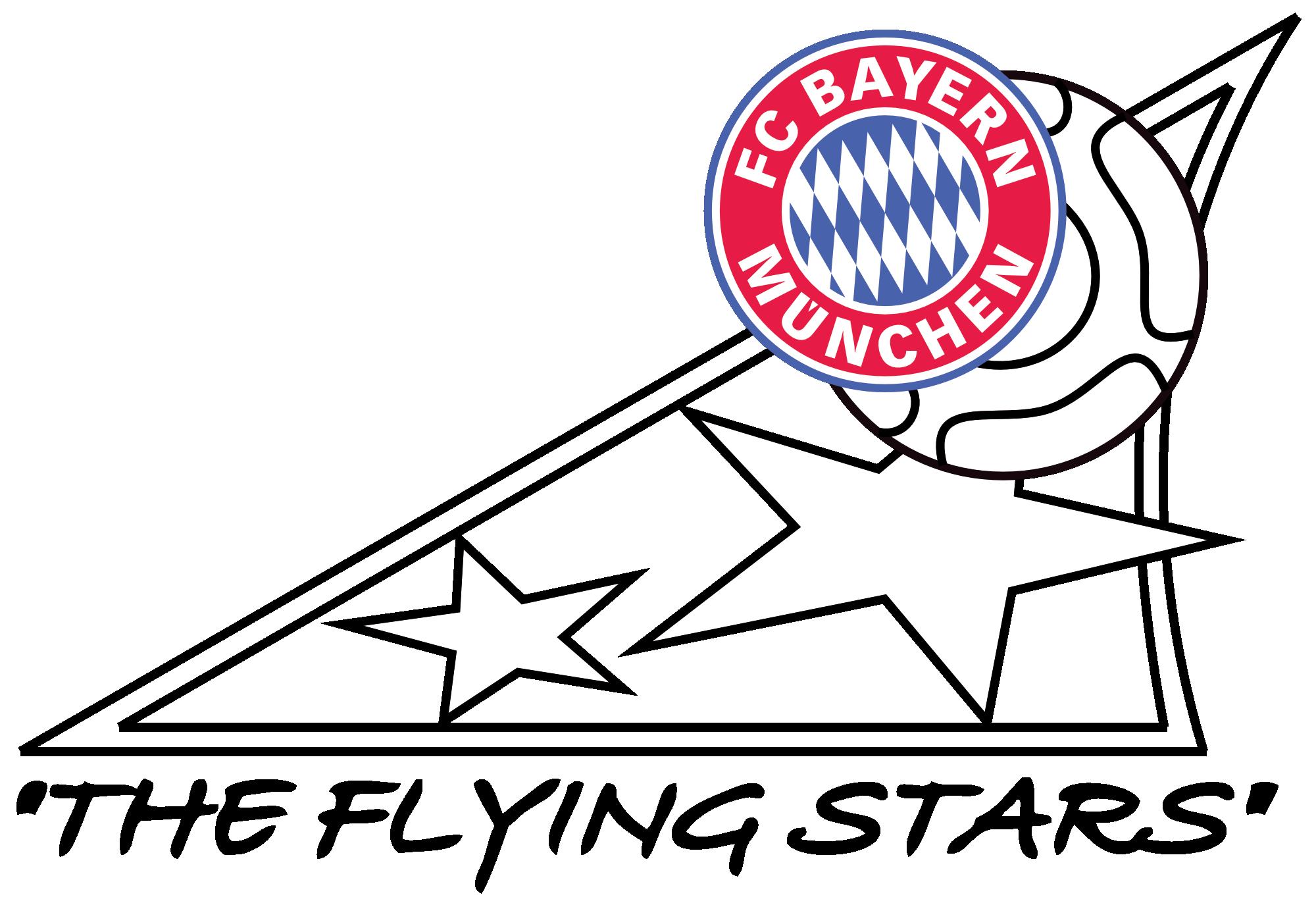 """FC Bayern Fanclub """"The flying Stars"""""""