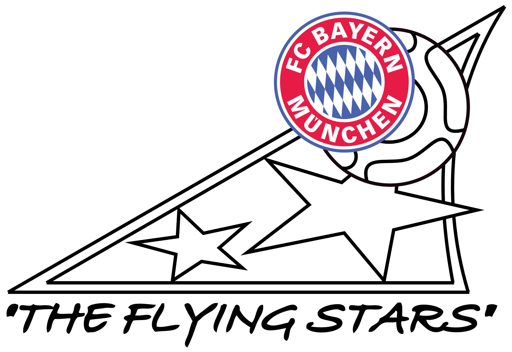 "FC Bayern Fanclub ""The flying Stars"""