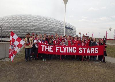 Gruppenbild Arena Jubiläumsfahrt 2017